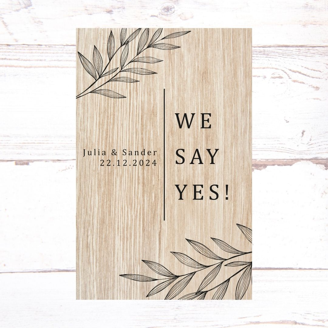 WE SAY YES!